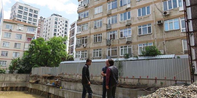 Kadıköy'de 6 katlı bina boşaltıldı