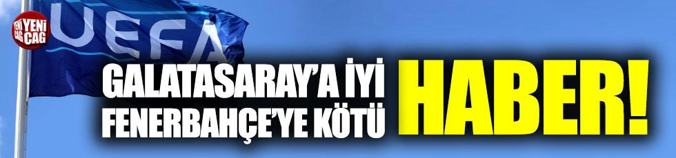 UEFA'dan Galatasaray ve Fenerbahçe açıklaması