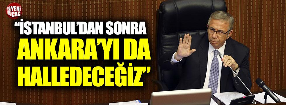 """Yavaş: """"İstanbul'dan sonra Ankara'yı da halledeceğiz sözleri yayılıyor"""""""