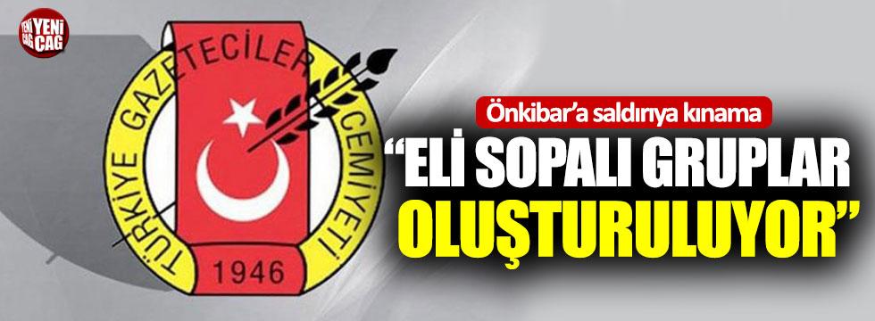 TGC'den Önkibar'a saldırıya kınama