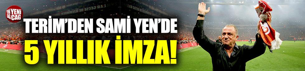 Terim'den Sami Yen'de 5 yıllık imza!
