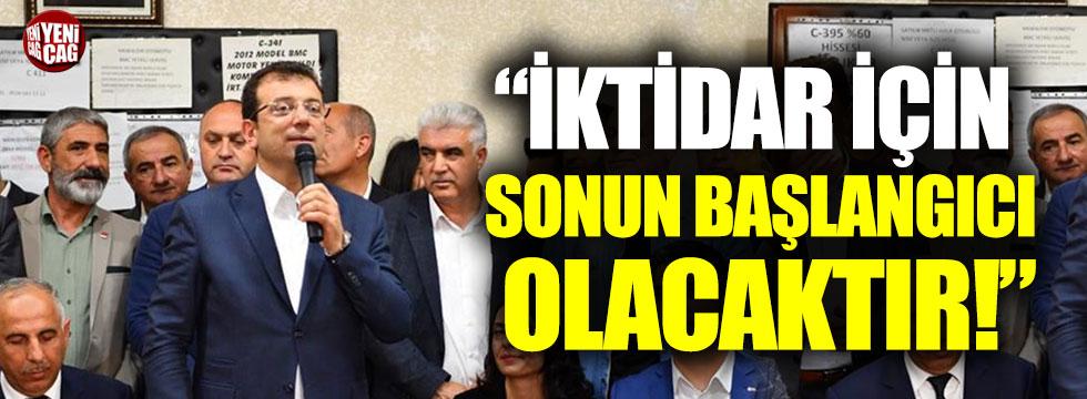 """""""İmamoğlu'nun tekrar kazanması AKP için sonun başlangıcı"""""""