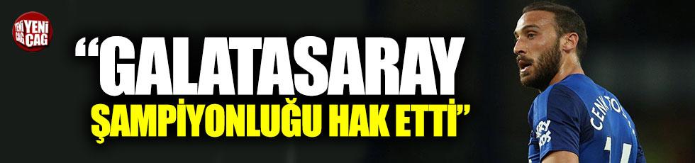 """Cenk Tosun """"Galatasaray şampiyonluğu hak etti"""
