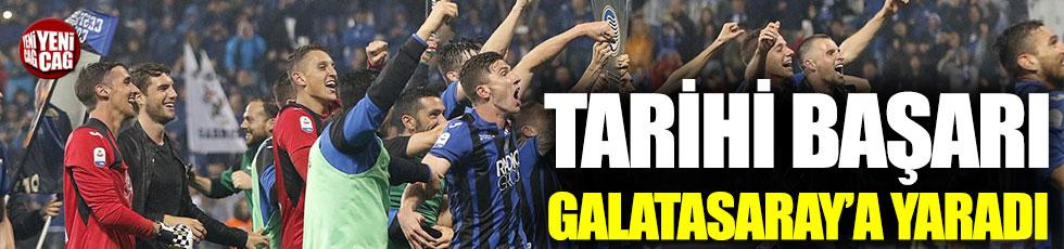 Atalanta'nın başarısı Galatasaray'a yaradı