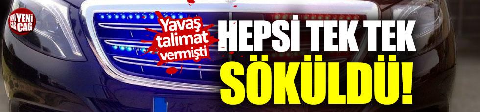 Ankara'da çakarlı araç dönemi sona erdi