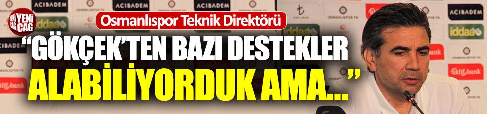 """Osmanlıspor: """"Belediye bizi desteklemiyor"""""""
