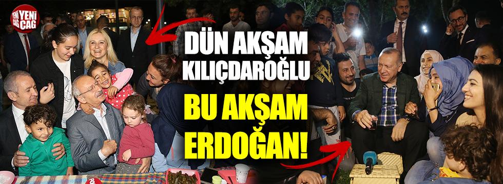 Dün Kılıçdaroğlu, bugün Erdoğan!