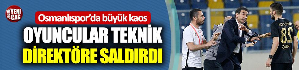 Osmanlısporlu oyuncular teknik direktöre saldırdı iddiası