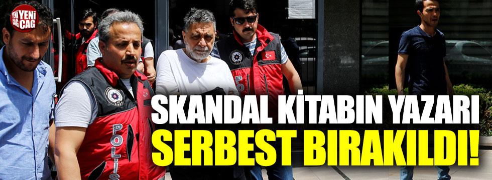 Skandal kitabın yazarı Abdullah Şevki serbest