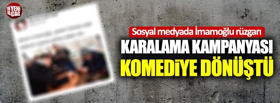 İmamoğlu'nu karalama kampanyası komediye dönüştü