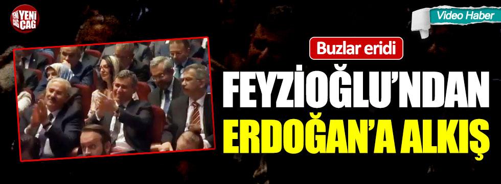 Metin Feyzioğlu'ndan Erdoğan'a alkış