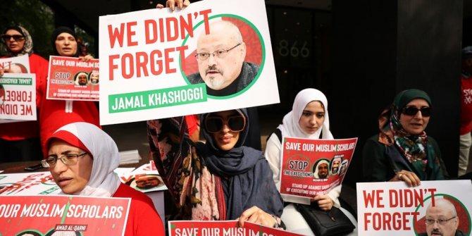 New York'ta Suudi Arabistan'a protesto