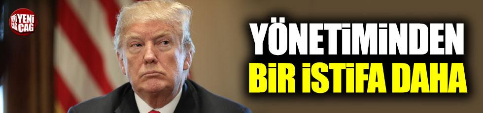 Trump yönetiminden bir isim daha istifa etti!