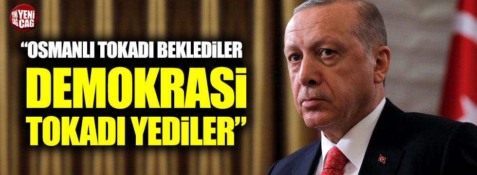 """Özgür Özel: """"Osmanlı tokadı beklediler, demokrasi tokadı yediler"""""""