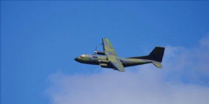 Hint askeri uçağı kayboldu!
