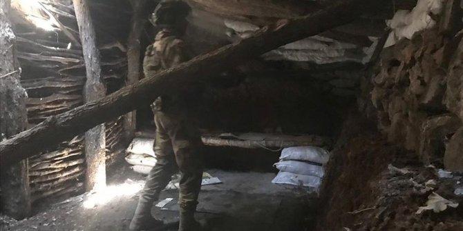 PKK'nın kullandığı 500 metrelik mağara yıkıldı