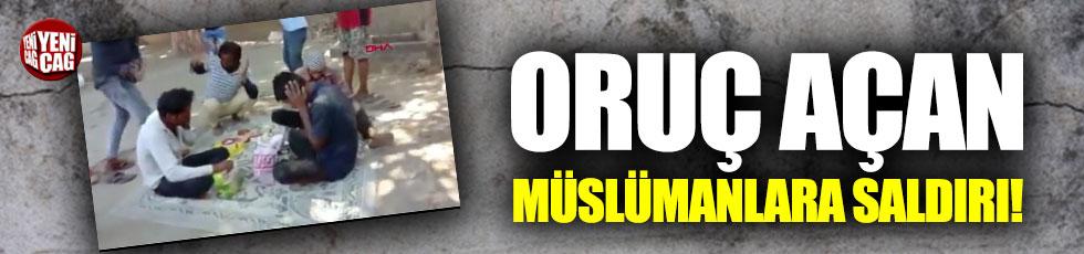Hindistan'da oruç açan Müslümanlara saldırı