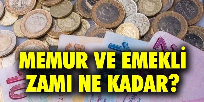 Memur ve emekli ne kadar maaş alacak? Enflasyon zamı etkileyecek mi?