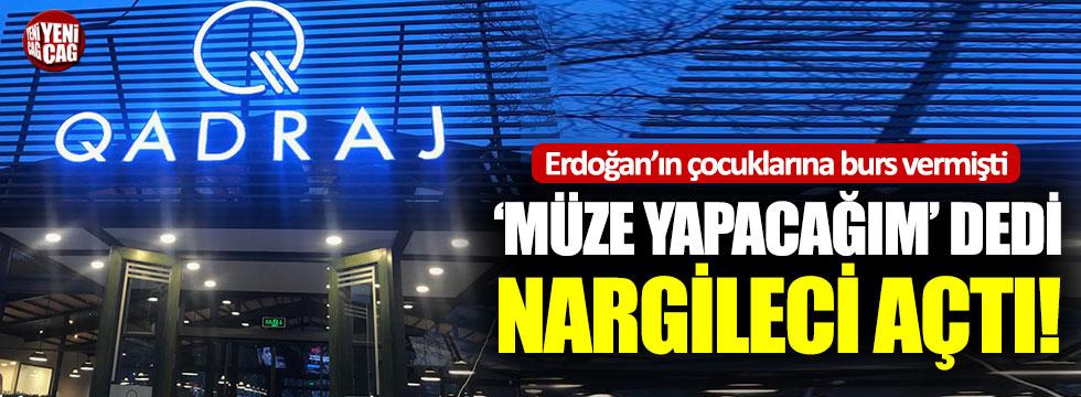 Erdoğan'ın çocuklarına burs vermişti: Sit alanına nargileci açtı!