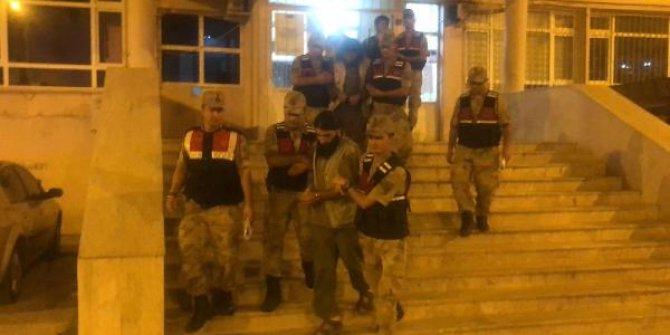 Sınırda yakalanan 3 IŞİD'li tutuklandı