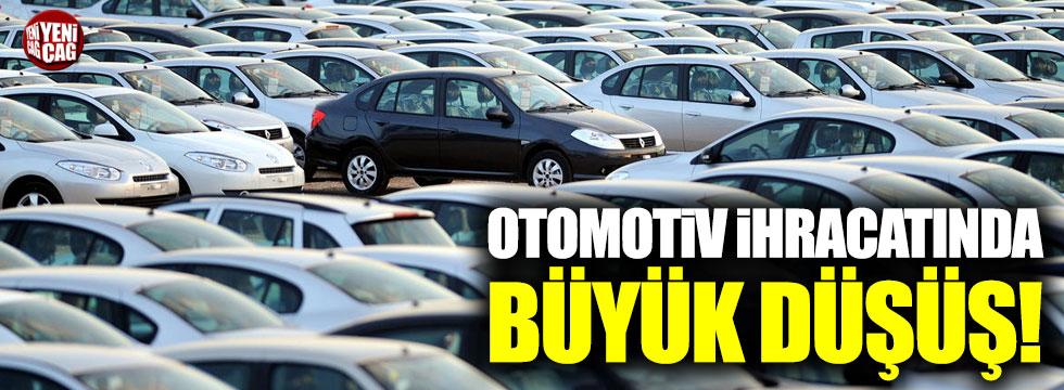 İlk 5 ayda otomotiv ihracatı %5.5 azaldı!
