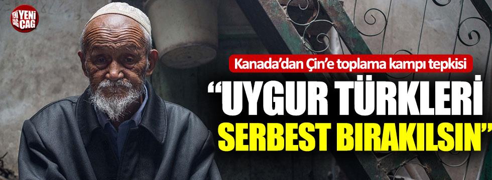 Kanada'dan Çin'e Uygur Türkleri tepkisi