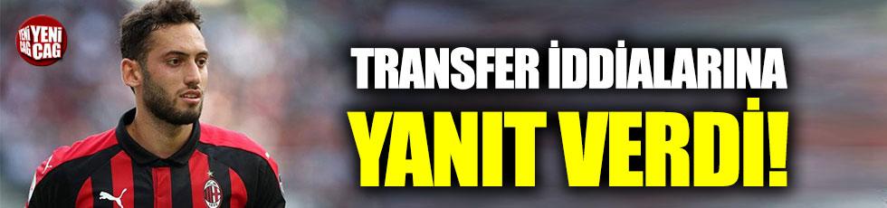 Hakan Çalhanoğlu'ndan transfer açıklaması