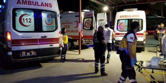 İki köyün kavgasında 9 yaralı 6 gözaltı