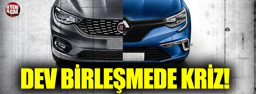 Fiat Chrysler ile Renault'nun birleşme görüşmelerinde kriz