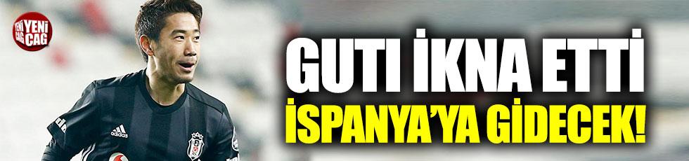 Kagawa İspanya'da oynaka istiyor. Guti ikna etti