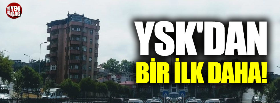 YSK'dan bir iptal kararı daha