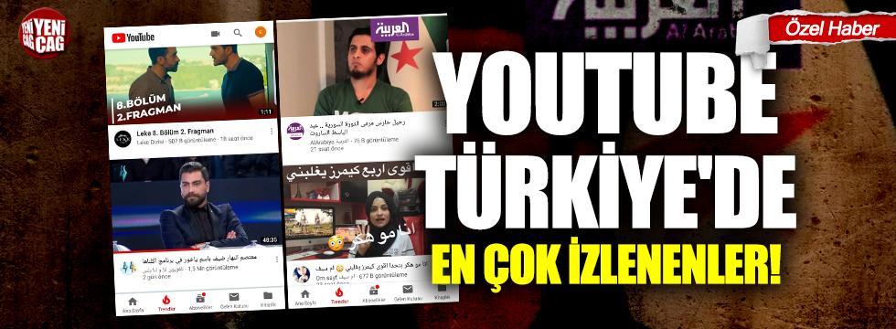 Youtube Türkiye'de en çok izlenenler!