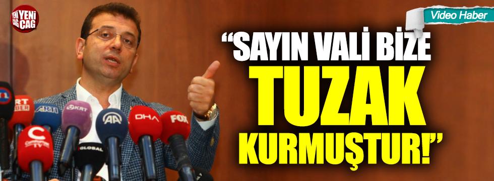 Ekrem İmamoğlu'ndan VIP açıklaması