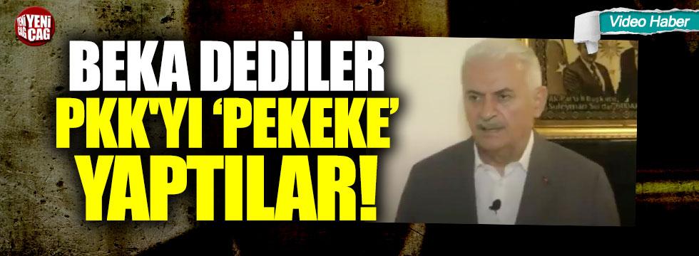 """""""Beka"""" dediler, PKK'yı """"Pekeke"""" yaptılar"""