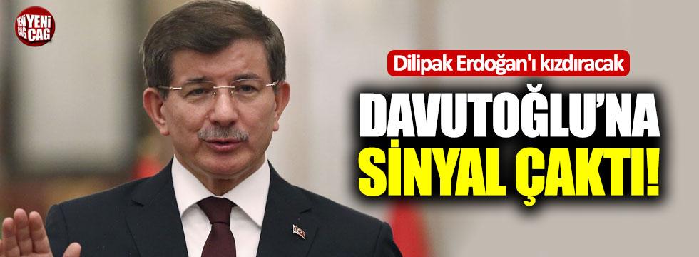 Dilipak Erdoğan'ı kızdıracak! Davutoğlu'na sinyal çaktı