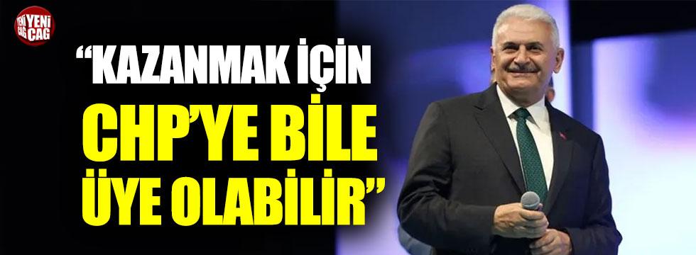 """Serdar Turgut: """"Binali Yıldırım kazanmak için CHP'ye bile üye olabilir"""""""
