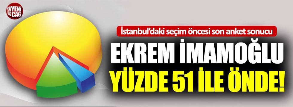 23 Haziran'daki İstanbul seçimi öncesi son anket sonucu!