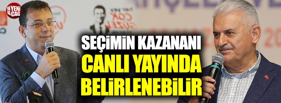 İstanbul'un kazananını ortak canlı yayın belirleyebilir