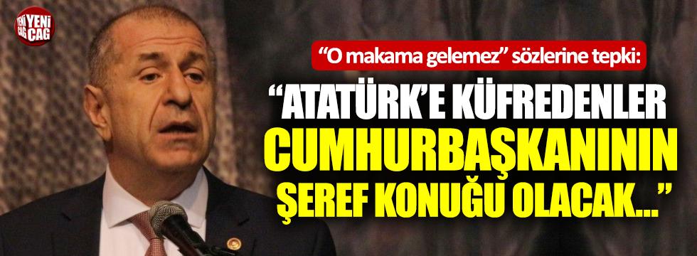 Özdağ'dan Erdoğan'ın o sözlerine tepki