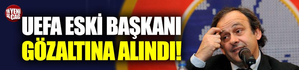 UEFA Eski Başkanı Platini gözaltına alındı