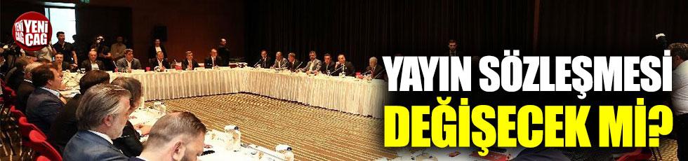 TFF ve Kulüpler Birliği'nden kritik toplantı