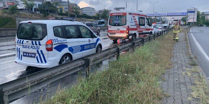 İstanbul Maltepe'de zincirleme kaza
