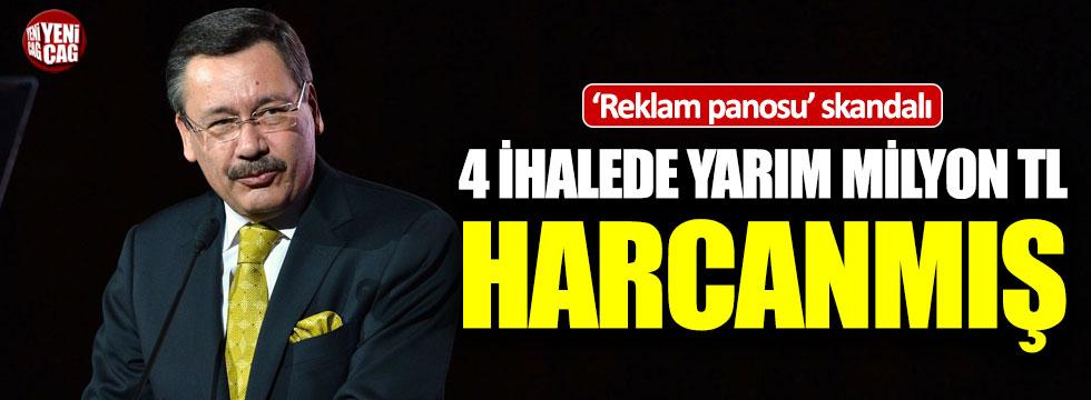 Ankara'da reklam panosu skandalı