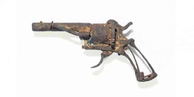 Van Gogh'un silahına 130 bin Euro