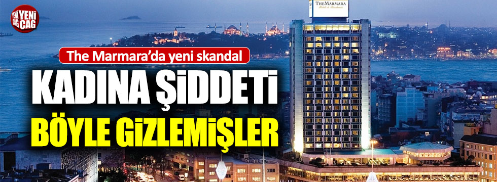 The Marmara Oteli hakkında yeni iddia