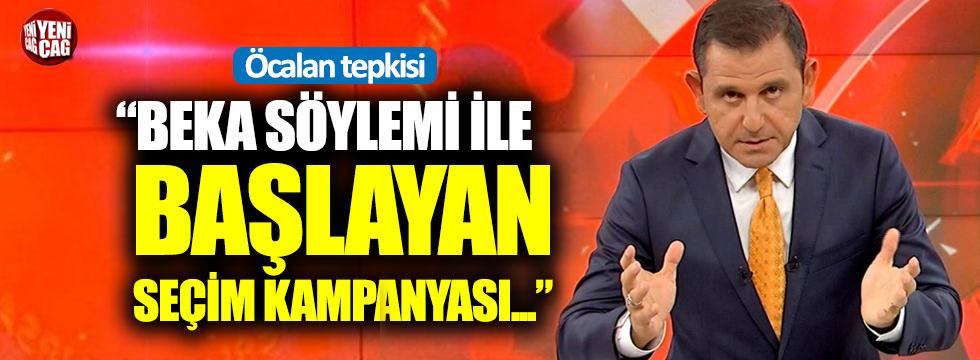 """Fatih Portakal: """"Beka söylemi ile başlayan seçim kampanyası..."""""""