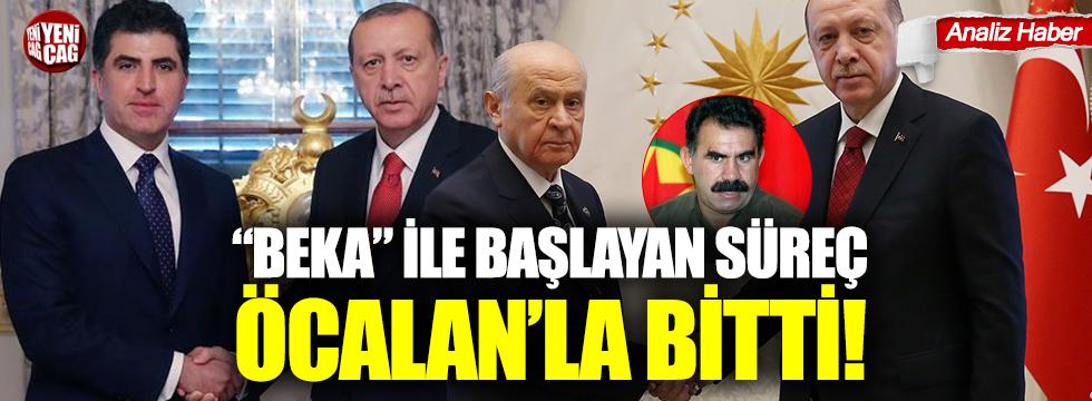 """""""Beka"""" ile başlayan süreç Öcalan'la bitti"""