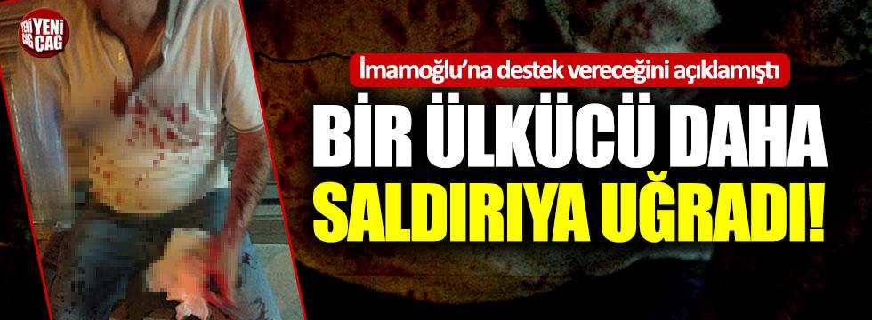 İmamoğlu'na destek vereceğini söyleyen bir İYİ Partili daha saldırıya uğradı!