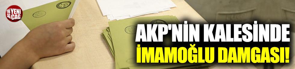 AKP'nin kalesinde İmamoğlu damgası!