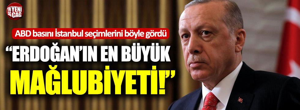 """ABD basını İstanbul seçimlerini böyle gördü: """"Erdoğan'ın en büyük mağlubiyeti!"""""""